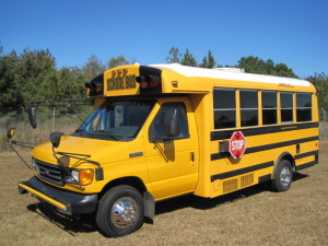 Chippewa yellow Bus